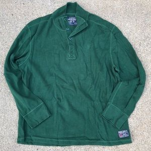 Vintage Nautica Long Sleeve Men's Thick Shirt